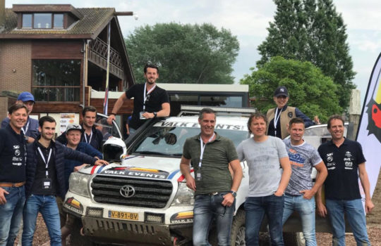 Ropaflex kleding voor Van der Valk Dakar team